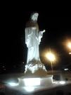 San Nicolò d'Arcidano: visione notturna della statua – Foto di Sardegna Terra di Pace – Tutti i diritti riservati