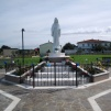San Nicolò d'Arcidano: prospetto frontale della statua – Foto di Sardegna Terra di Pace – Tutti i diritti riservati