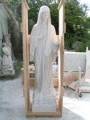 San Nicolò d'Arcidano: prespedizione statua della Regina della Pace – Foto di Sardegna Terra di Pace – Tutti i diritti riservati