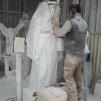 San Nicolò d'Arcidano: realizzazione statua della Regina della Pace 5 – Foto di Sardegna Terra di Pace – Tutti i diritti riservati