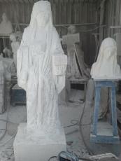 San Nicolò d'Arcidano: realizzazione statua della Regina della Pace 7 – Foto di Sardegna Terra di Pace – Tutti i diritti riservati