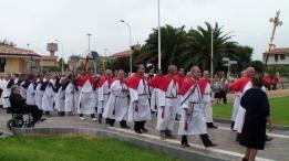 San Nicolò d'Arcidano: processione Confraternita del Crocifisso e del Santo Rosario – Foto di Sardegna Terra di Pace – Tutti i diritti riservati