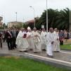 San Nicolò d'Arcidano: vescovo, sacerdoti e autorità civili in processione – Foto di Sardegna Terra di Pace – Tutti i diritti riservati