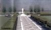 San Nicolò d'Arcidano: progetto (prospetto frontale 2) della piazza e statua della Regina della Pace – Foto di Sardegna Terra di Pace – Tutti i diritti riservati