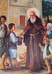 Sant'Ignazio da Làconi offre il pane