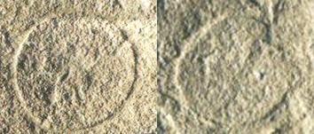 Mogoro: impronte delle particole