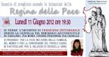 Locandina Incontro di Preghiera Settimanale del 11 Giugno 2012