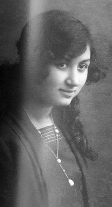 Leonilda Cabitza a 15 anni