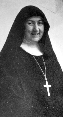 Madre Maria Ildegarde Cabitza nel 1958