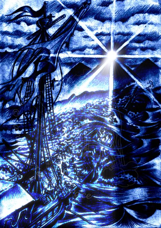 """""""Mi circondavano flutti di morte, mi travolgevano torrenti impetuosi; [...] nell'angoscia gridai al mio Dio [...] ascoltò la mia voce [...] abbassò i cieli e discese (Sal 17)"""
