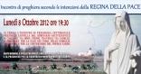 Locandina Incontro di Preghiera Settimanale del 8 Ottobre 2012
