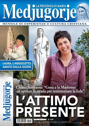"""Copertina del Novembre 2012 del mensile """"Medjugorje - La Presenza di Maria"""""""