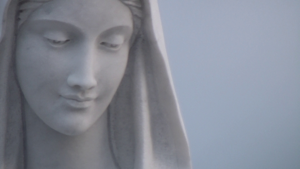 San Nicolò d'Arcidano: dettaglio volto della statua – Foto di Sardegna Terra di Pace – Tutti i diritti riservati