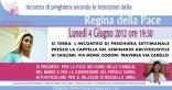 Locandina Incontro di Preghiera Settimanale del 4 Giugno 2012