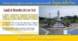 Locandina Incontro di Preghiera Settimanale del 5 Novembre 2012