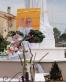 San Nicolò d'Arcidano: Papa Francesco ai piedi della Regina della Pace – Foto di Sardegna Terra di Pace – Tutti i diritti riservati