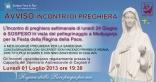 Avviso Incontro di Preghiera Settimanale del 24 Giugno 2013
