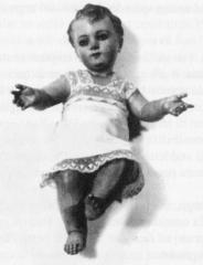 Bambino Gesù di Edvige che si è animato più volte - Foto del Comitato Serva di Dio Edvige Carboni - Tutti i diritti riservati