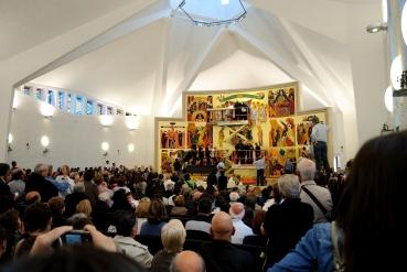 Cagliari: interno della chiesa – Foto di Sardegna Terra di Pace – Tutti i diritti riservati