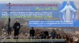 Locandina Incontro di Preghiera Settimanale del 22 Luglio 2013