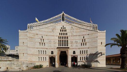Basilica dell'Annunciazione di Nazareth - Foto di Berthold Werner - CC BY-SA 3.0, 2.5, 2.0, 1.0