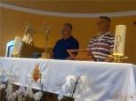 Medjugorje: testimonianza di Ivan dopo l'apparizione dell'8 Agosto 2013 - Foto di Radio Maria - Tutti i diritti riservati