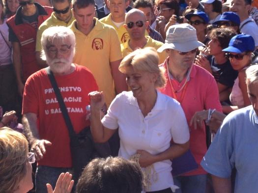 Mirjana Dragičević (in) Soldo: apparizione 2 Agosto 2013 – Foto di Gospodine – Tutti i diritti riservati