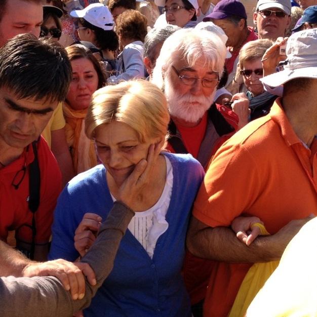 Mirjana Dragičević (in) Soldo: apparizione 2 Luglio 2013 – Foto di Gospodine – Tutti i diritti riservati