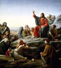 Sermon On the Mount - Carl Heinrich Bloch - Pubblico Dominio