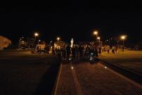 San Nicolò d'Arcidano: preghiera notturna presso piazza Regina della Pace – Foto di Sardegna Terra di Pace – Tutti i diritti riservati