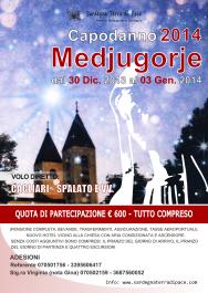 Locandina Pellegrinaggio Medjugorje Capodanno 2013/2014 – Foto di Sardegna Terra di Pace – Tutti i diritti riservati