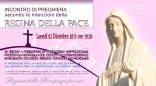 Locandina Incontro di Preghiera Settimanale del 02 Dicembre 2013