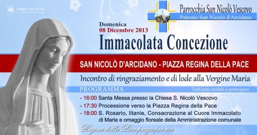 Locandina Immacolata Concezione - 2013