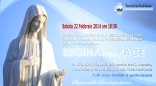 Locandina Incontro di Preghiera Arcidano Febbraio 2014