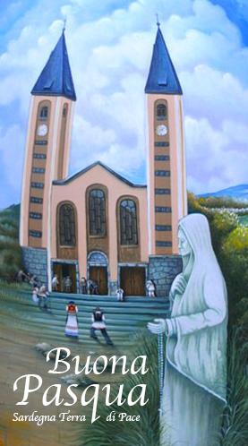 Dettaglio Uovo Pasquale di Medjugorje