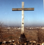 Croce per l'apparizione del 26 Giugno 1981 – Foto di Sardegna Terra di Pace – Tutti i diritti riservati