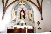 Gonare: altare del santuario (2) - Foto di Sardegna Terra di Pace - Tutti i diritti riservati