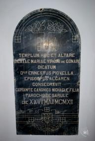 Gonare: lapide (2) - Foto di Sardegna Terra di Pace - Tutti i diritti riservati