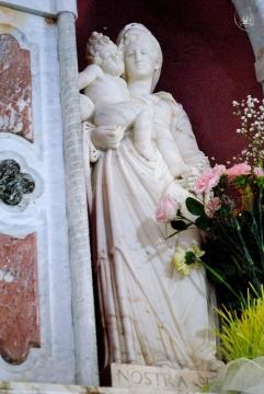 Gonare: statua di Nostra Signora - Foto di Sardegna Terra di Pace - Tutti i diritti riservati