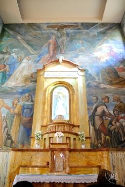 Gonare: statua Madonna delle Grazie - Foto di Sardegna Terra di Pace - Tutti i diritti riservati
