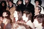 Medjugorje: i veggenti durante l'apparizione (6) – Foto di Sardegna Terra di Pace – Tutti i diritti riservati