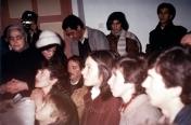 I veggenti durante l'apparizione (5) – Foto di Sardegna Terra di Pace – Tutti i diritti riservati