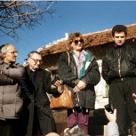 Ivan, Padre Giovanni Puggioni e Don Piero Croce sulla Collina delle Apparizioni – Foto di Sardegna Terra di Pace – Tutti i diritti riservati