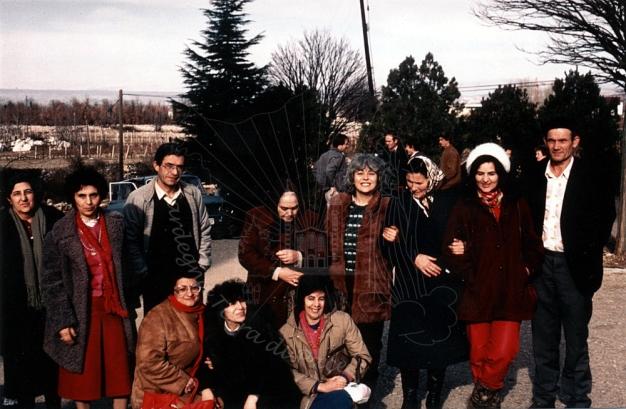 Medjugorje: pellegrini sardi con fedeli del posto – Foto di Sardegna Terra di Pace – Tutti i diritti riservati