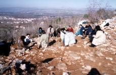Preghiera sulla Collina delle Apparizioni (8) – Foto di Sardegna Terra di Pace – Tutti i diritti riservati
