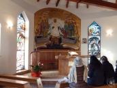 Medjugorje: cappella della Comunità Cenacolo – Foto di Sardegna Terra di Pace – Tutti i diritti riservati
