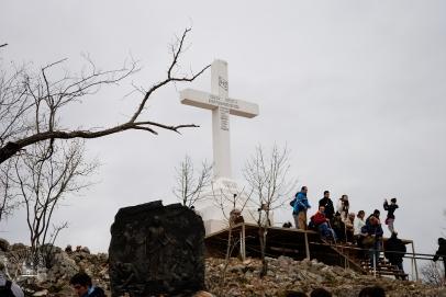 Medjugorje: Croce sul Križevac – Foto di Sardegna Terra di Pace – Tutti i diritti riservati