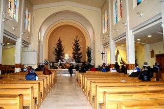 Medjugorje: interno della Chiesa di San Giacomo Apostolo – Foto di Sardegna Terra di Pace – Tutti i diritti riservati
