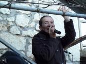 Medjugorje: la veggente Vicka Ivanković (3) – Foto di Sardegna Terra di Pace – Tutti i diritti riservati
