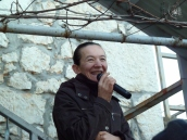 Medjugorje: la veggente Vicka Ivanković (2) – Foto di Sardegna Terra di Pace – Tutti i diritti riservati